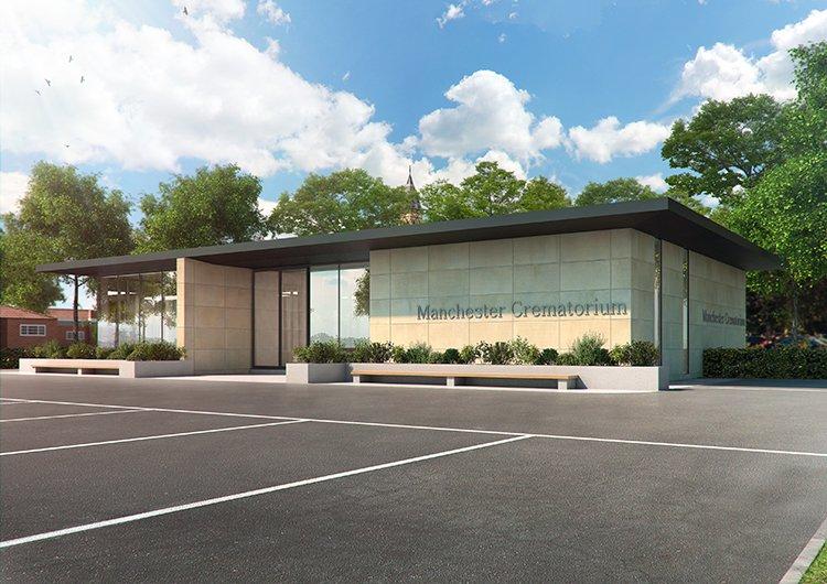 New Office for the Crematorium