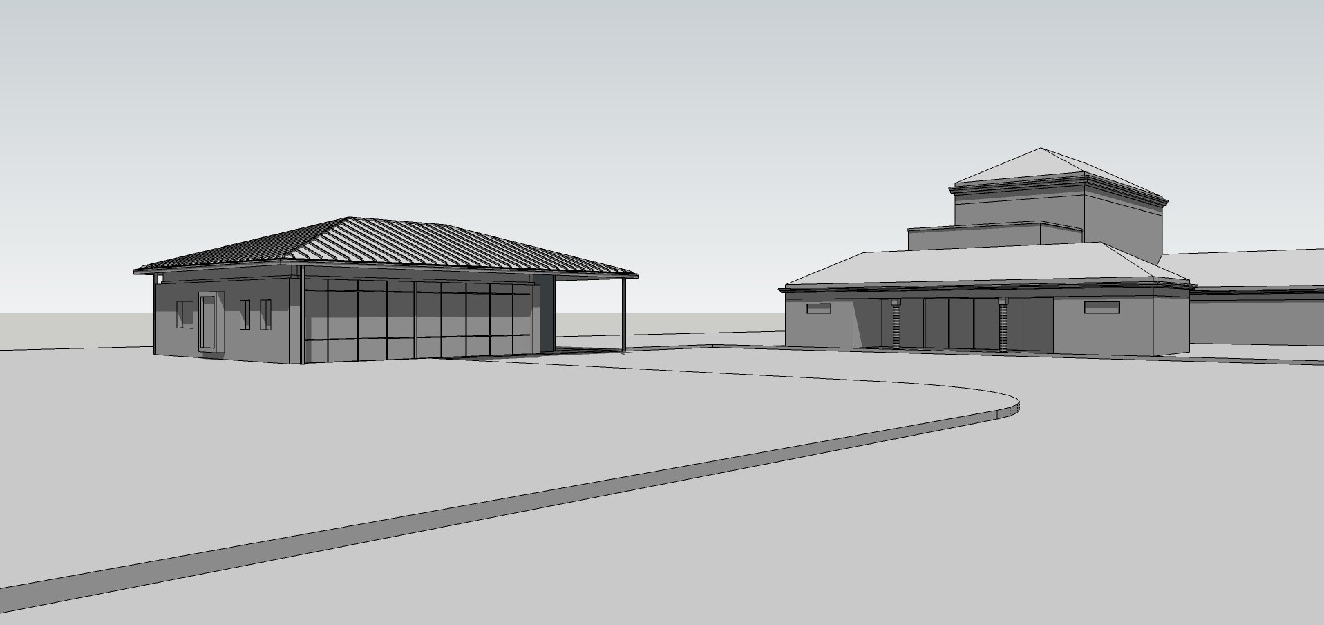 A new office for the Crematorium